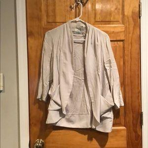 Beige urban outfitters cardigan size medium